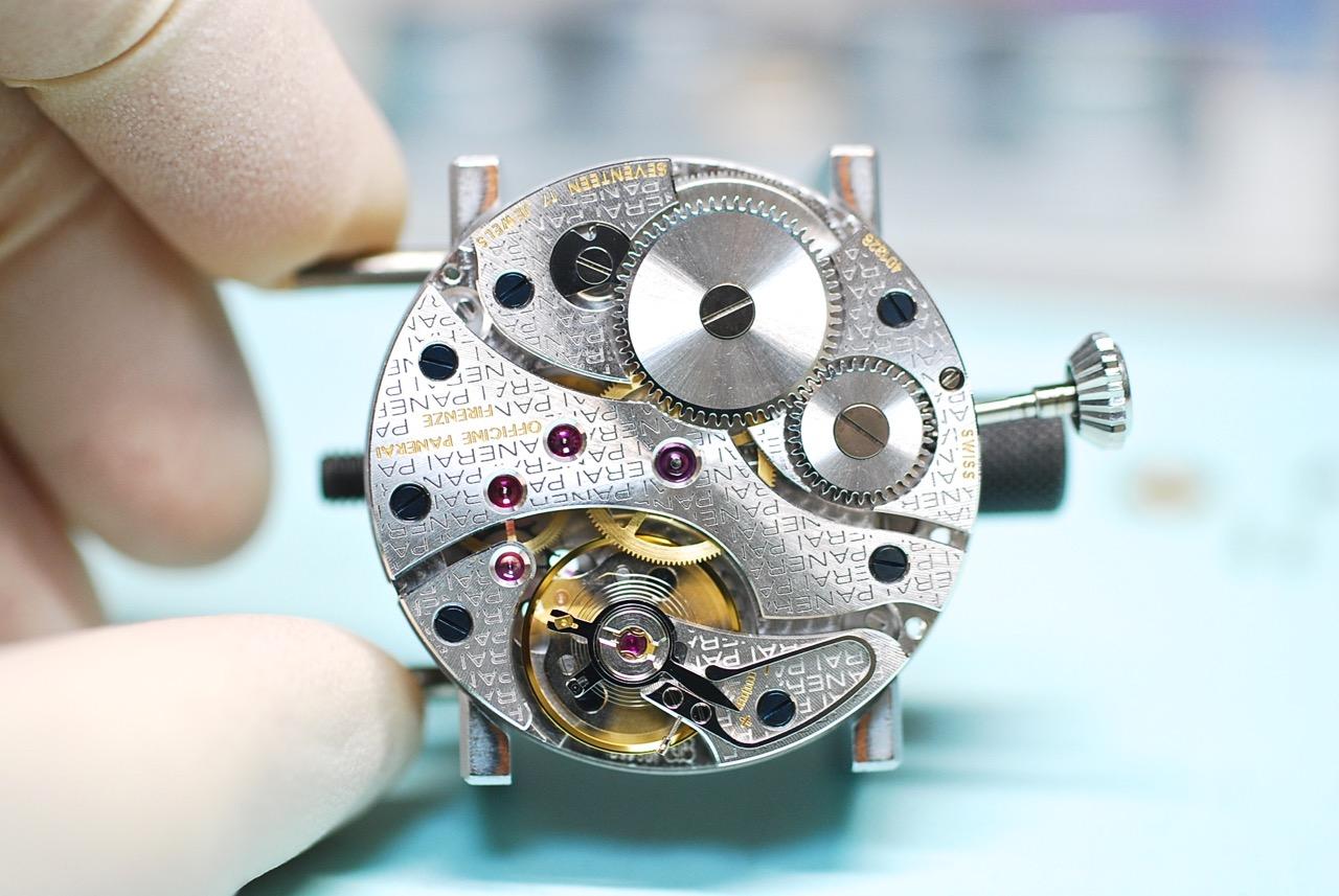 手巻き時計の仕組み